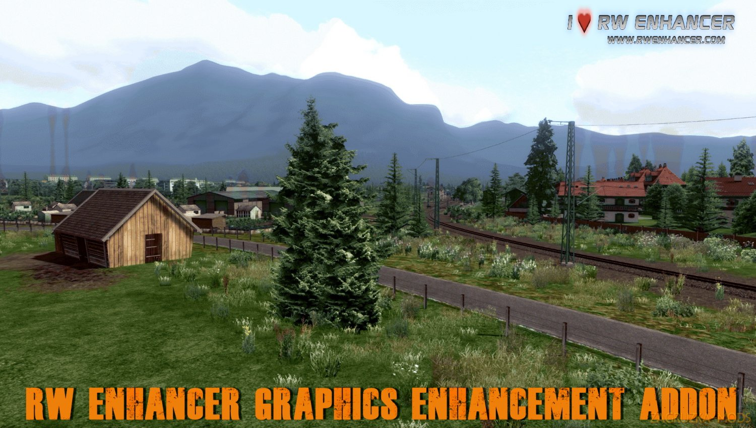 RW Enhancer Graphics Enhancement Addon v1.0 for TS 2019