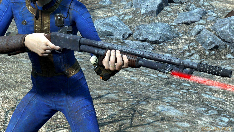 Ithaca Model 37 - Pump Shotgun v1.0 for Fallout 4