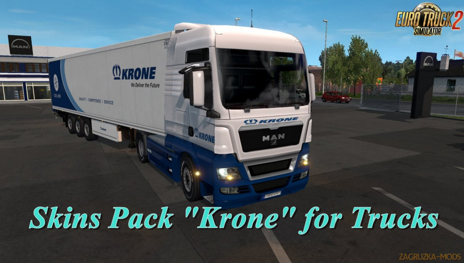 Krone Skins Pack for Trucks v2.0