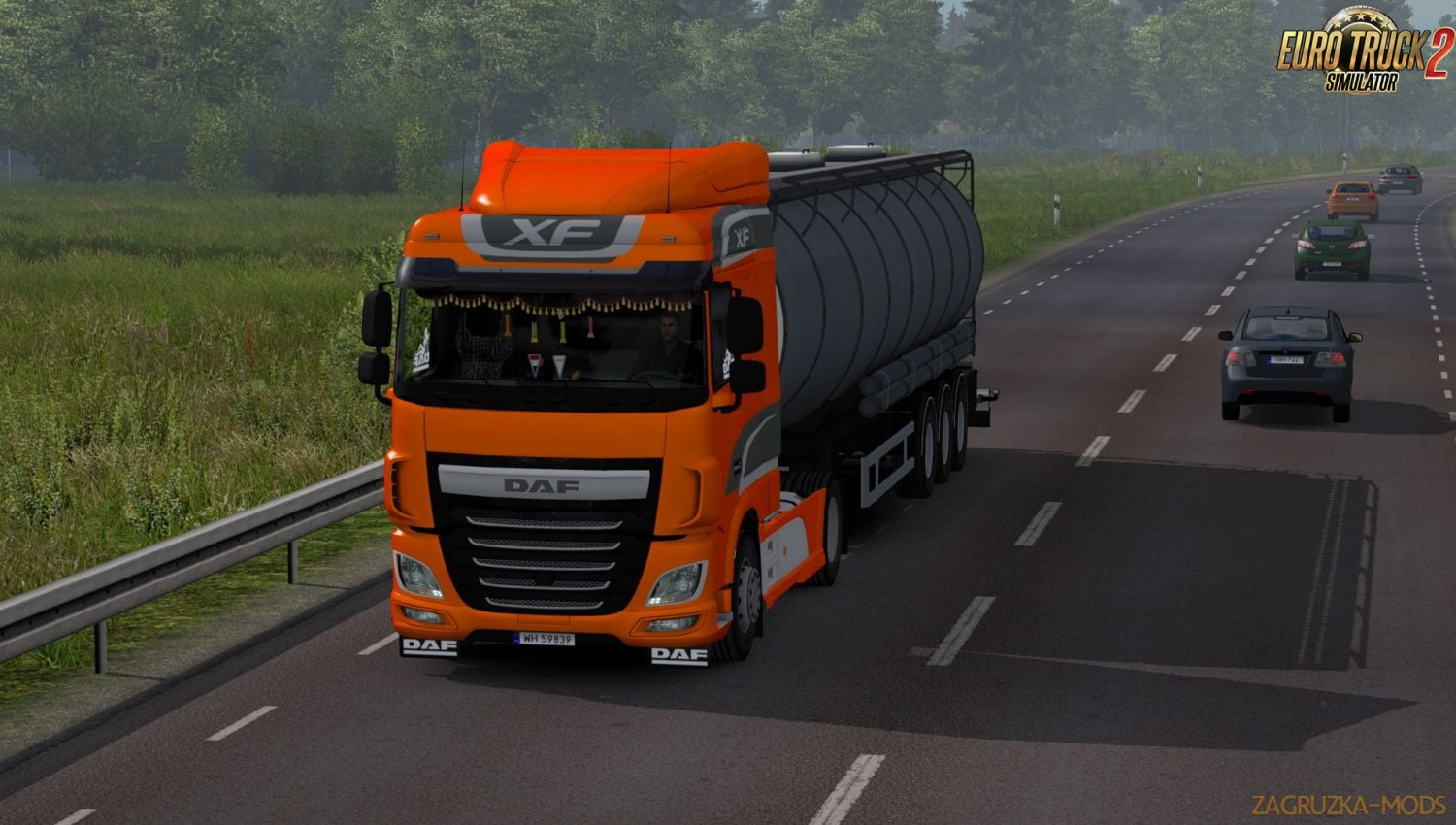 Daf XF Euro 6 Reworked v2.5 by Schumi] [1.33.x]