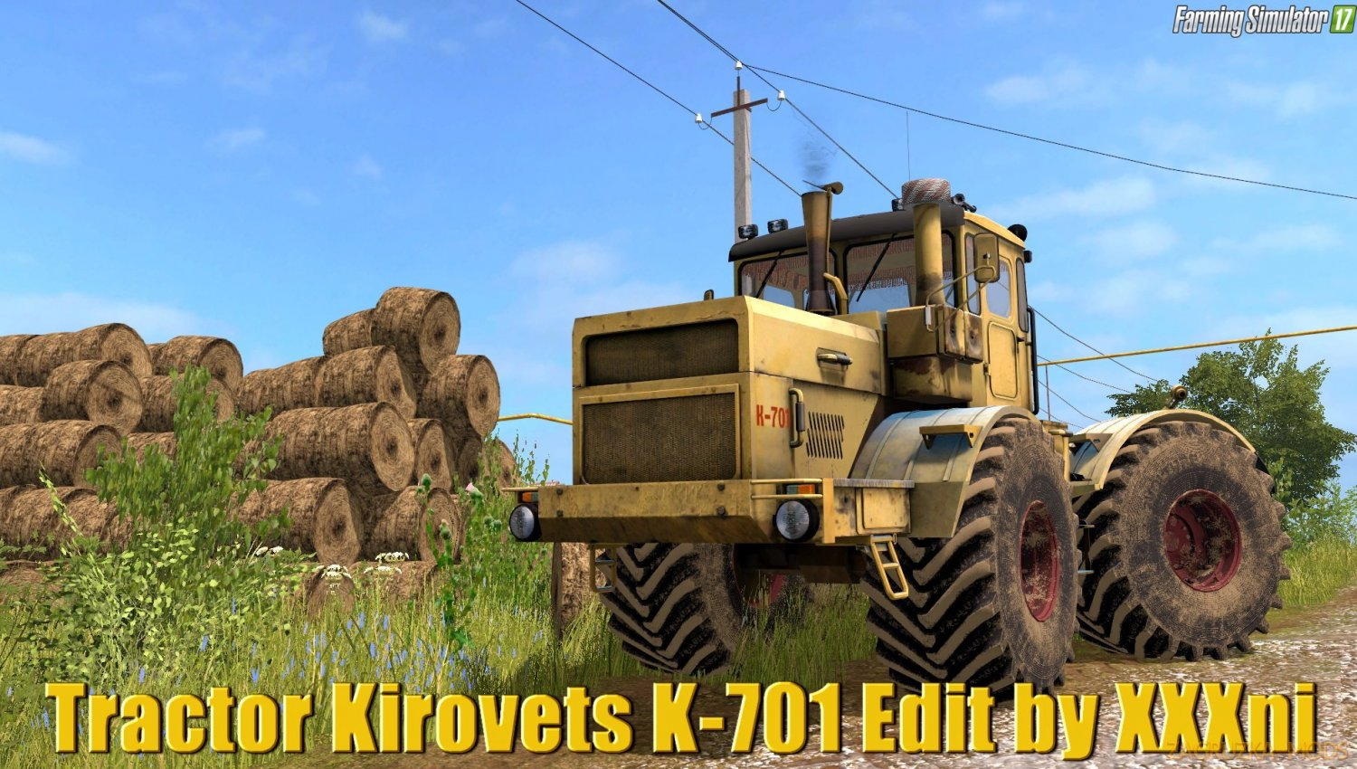 Kirovets K-701 v1.4 Edit by XXXni for FS17
