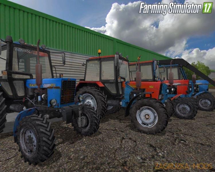 Belarus-MTZ Pack Tractors v1.2 by XXXni for FS17