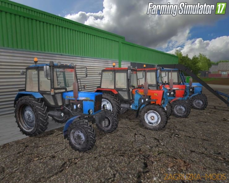 Belarus-MTZ Pack Tractors v1.2 by XXXni for FS17