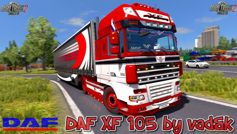 DAF XF 105 v6.4 by vad&k [1.33.x]