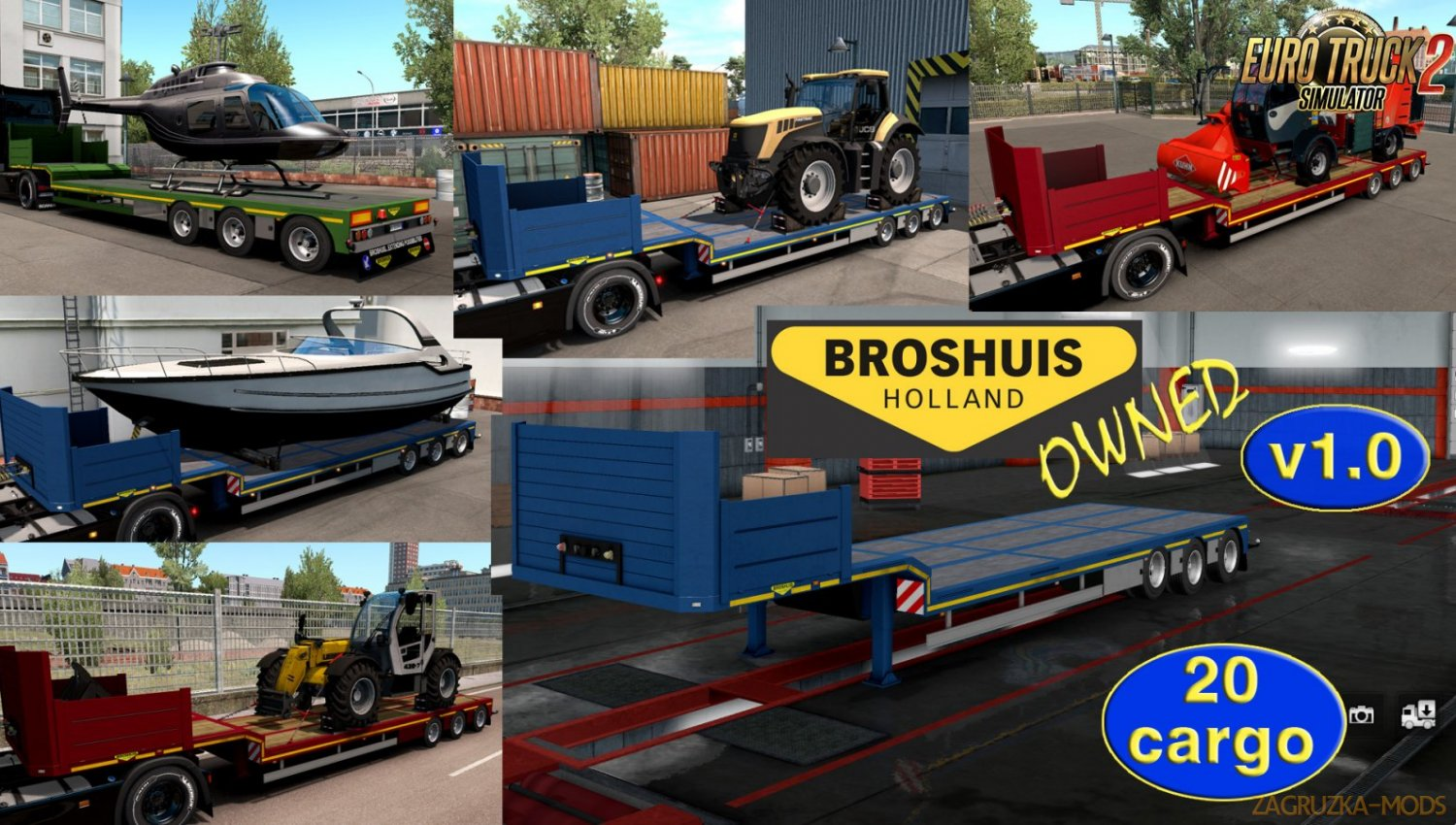 Ownable trailer Broshuis v1.0 by Jazzycat