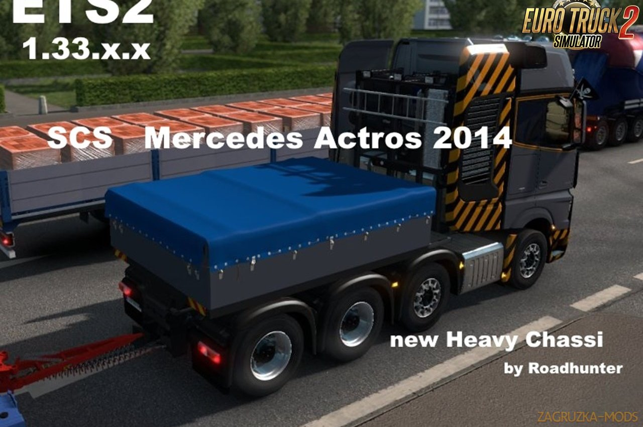 Mercedes Actros 2014 Heavy Chassi by Roadhunter