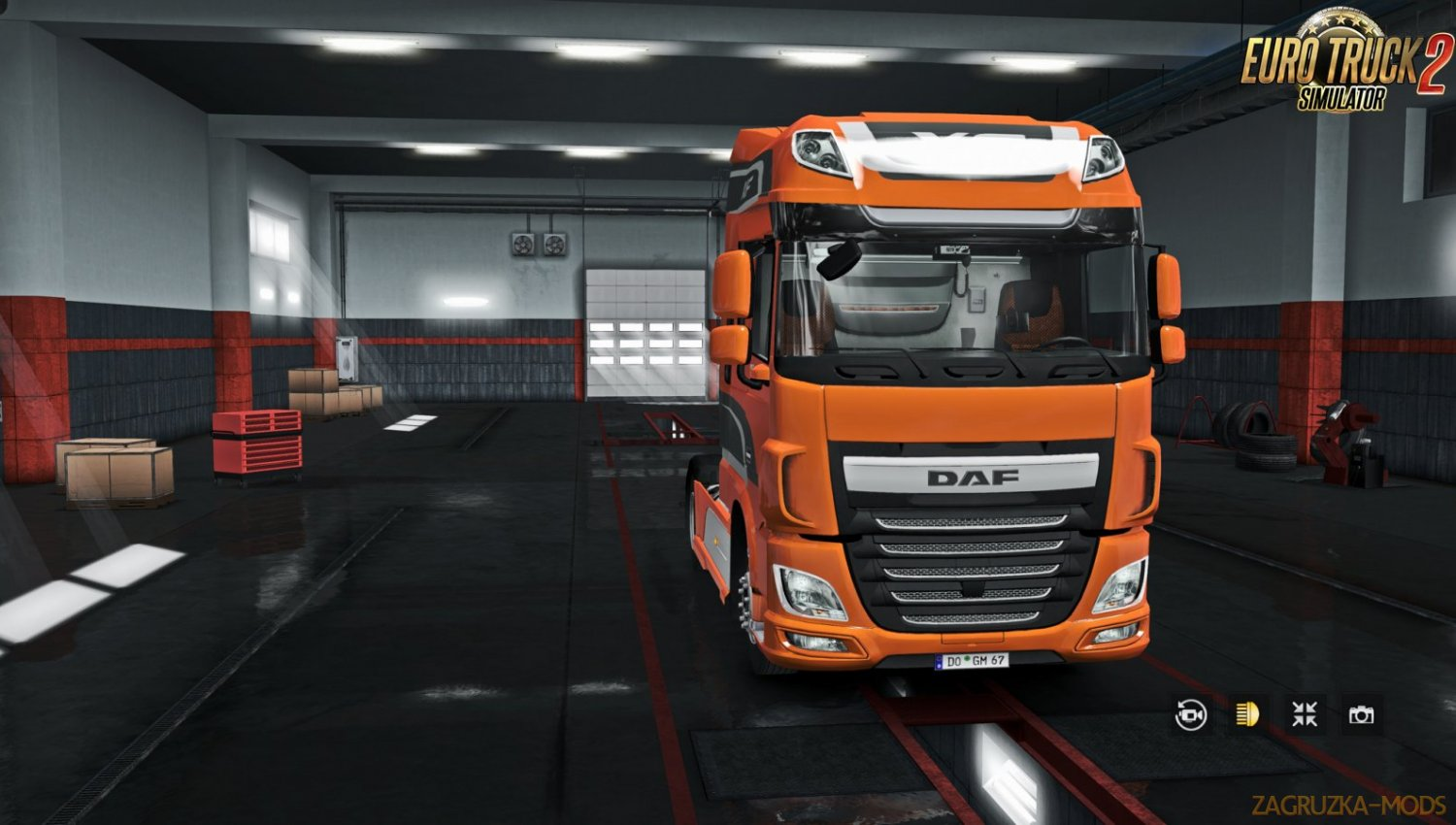 Exterior view reworked for DAF XF euro 6 v1.1