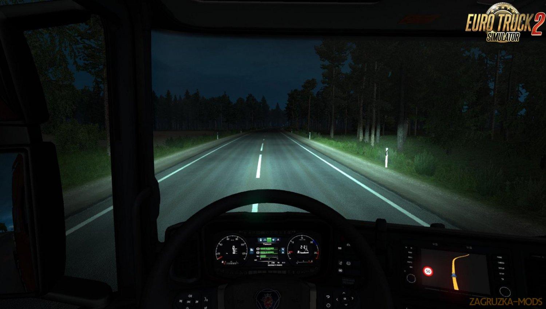 ALEXD 5500 K Lights v1.0 for Ets2