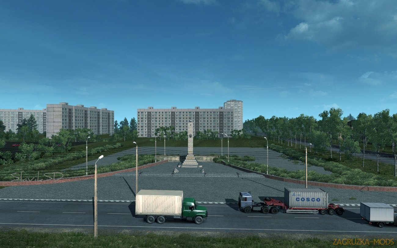 Northern Russian Region v3.0 for Ets2