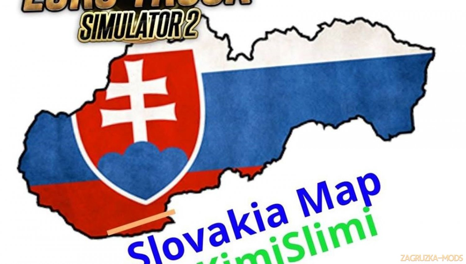 New Slovakia Map v12 by KimiSlimi (1.33.x)