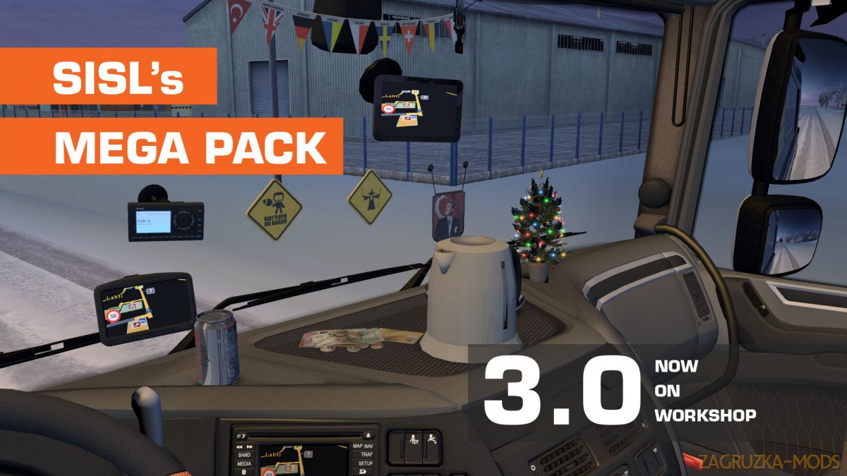 SiSLs Mega Pack v3.0 (1.33.x) for ATS