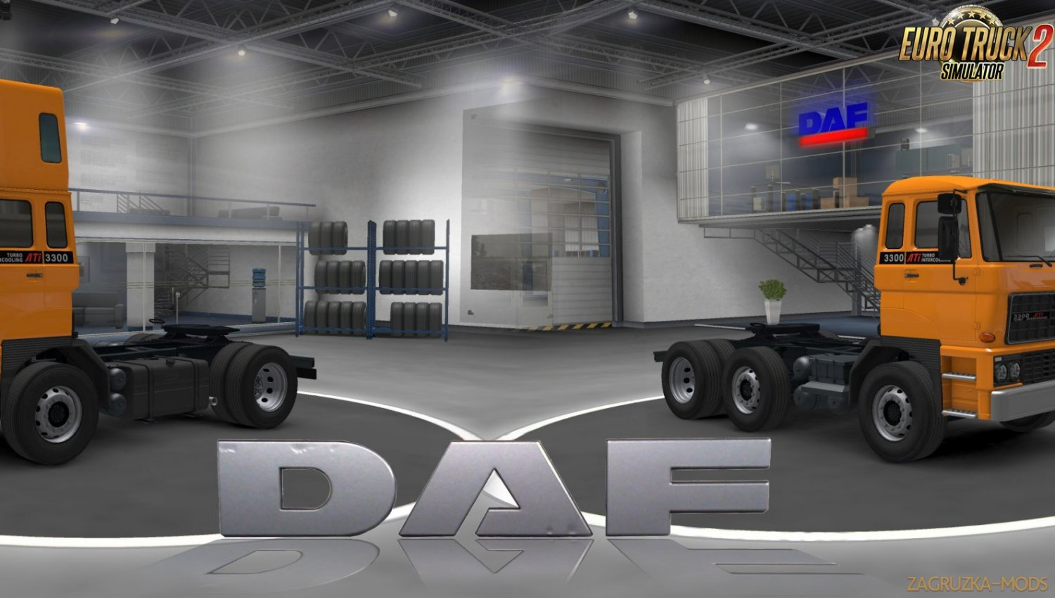 DAF F241 series v1.0 by XBS