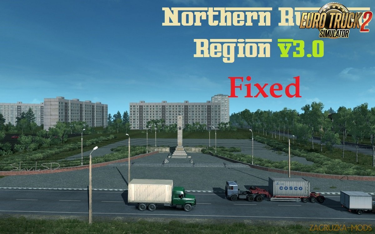 Northern Russian Region v3.0-Fixed for Ets2