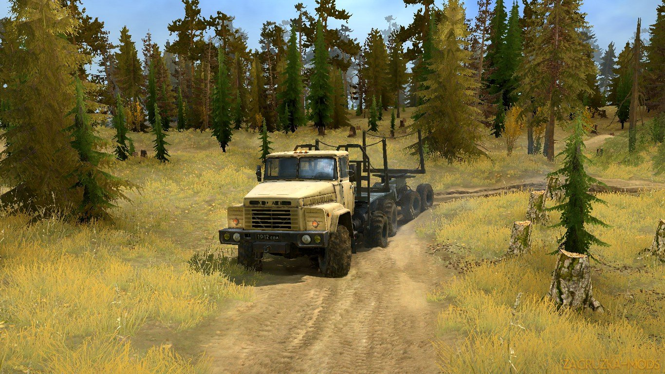 The Badlands 2 - A PiX3LMonkey Map v1.0 (v19.11.18) for SpinTires: MudRunner