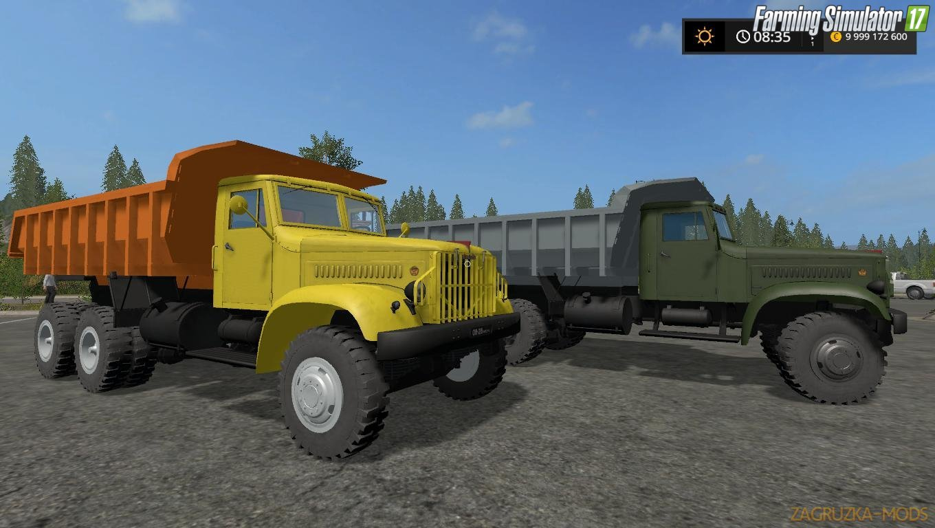 KrAZ-219 v1.0 for FS17