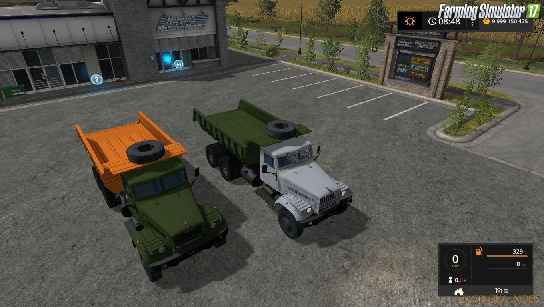 KrAZ-256 v1.0 by Mirage for FS17