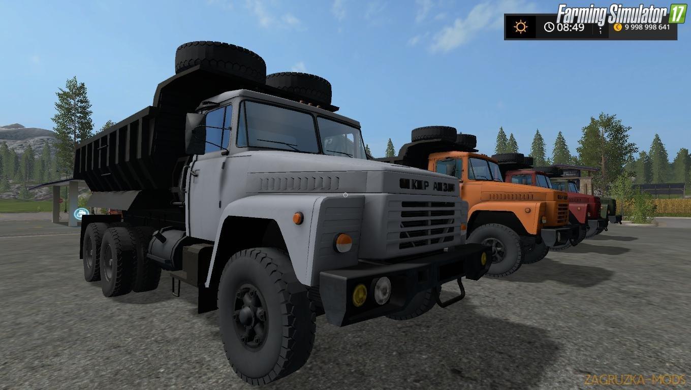 KrAZ-250 v1.0 by Mirage for FS17