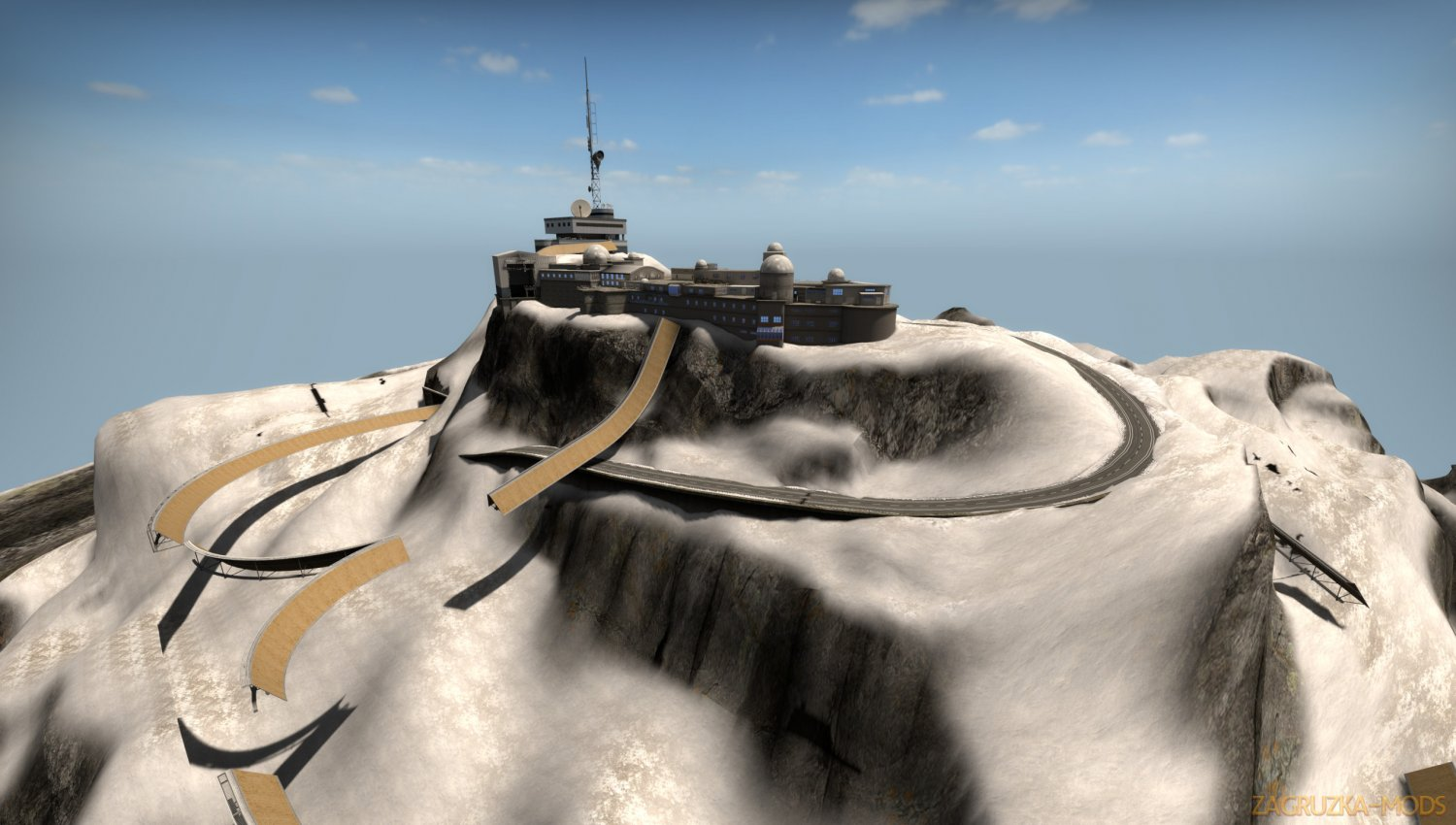 surf_snowslide Map v1.0 for CSGO