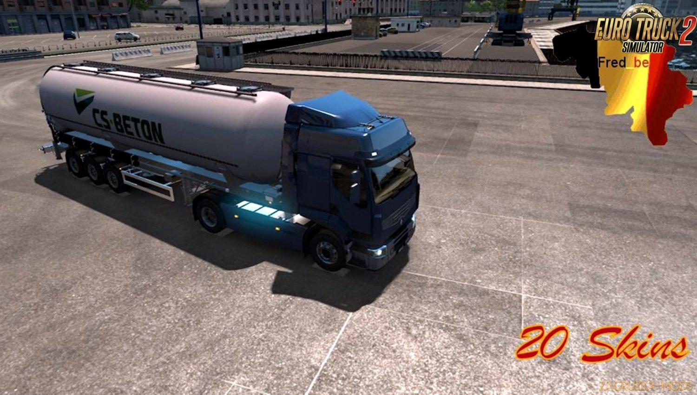 Trailer Pack Cistern v1.33 for Ets2