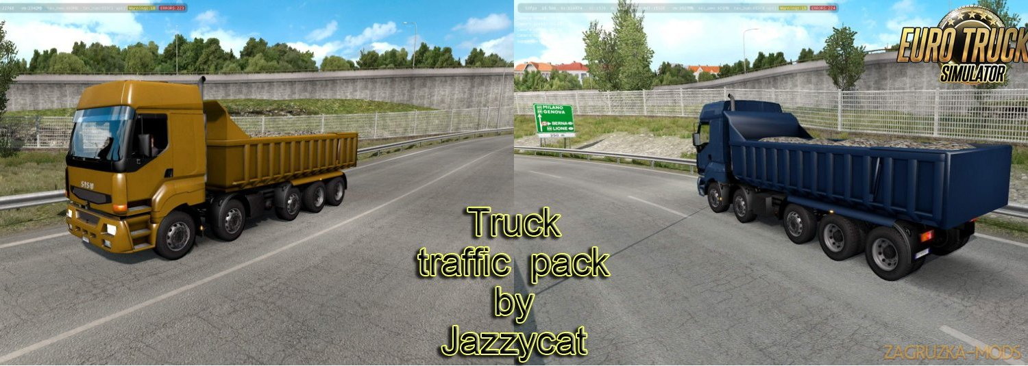 Truck Traffic Pack v3.3 by Jazzycat
