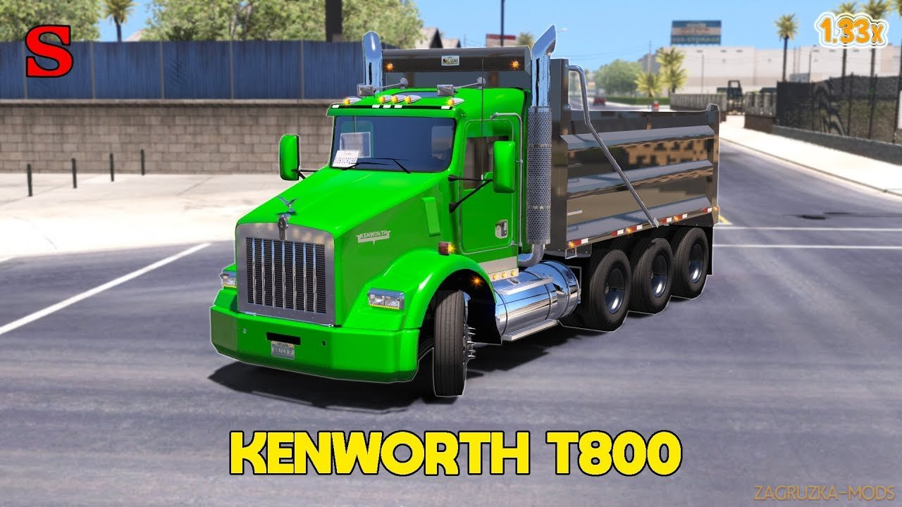 Kenworth T800 2016 + Interior v1.0 (1.33.x) for ATS