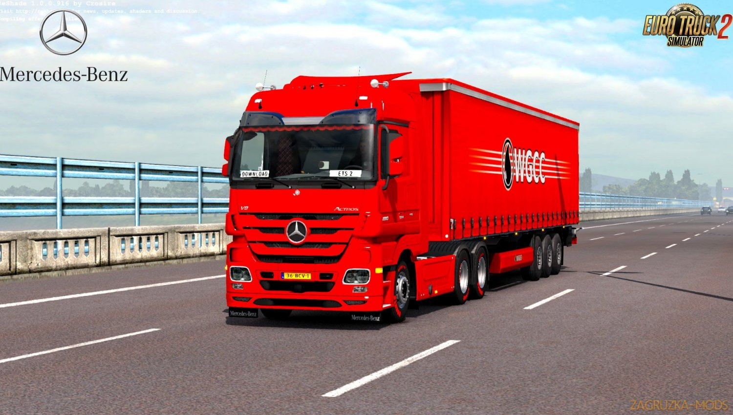 Mercedes Actros MP3 Reworked v2.7 by Schumi [1.33.x]