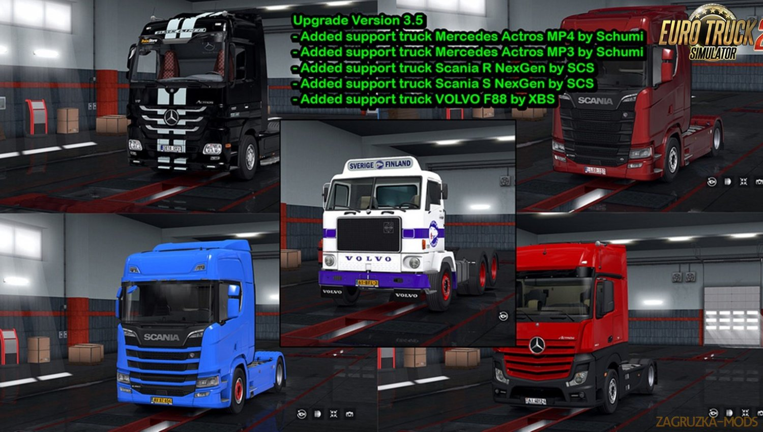 License Plate Pack for Modified Trucks v3.5