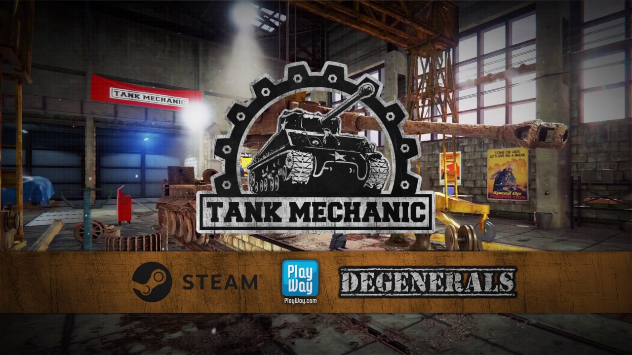 Tank Mechanic Simulator - soon game!