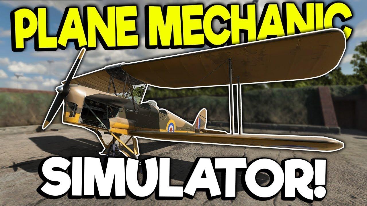 Plane Mechanic Simulator - soon game!