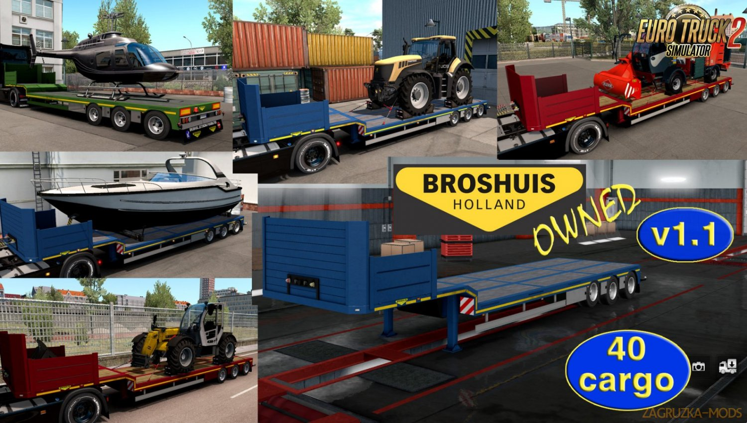 Ownable trailer Broshuis v1.1 by Jazzycat