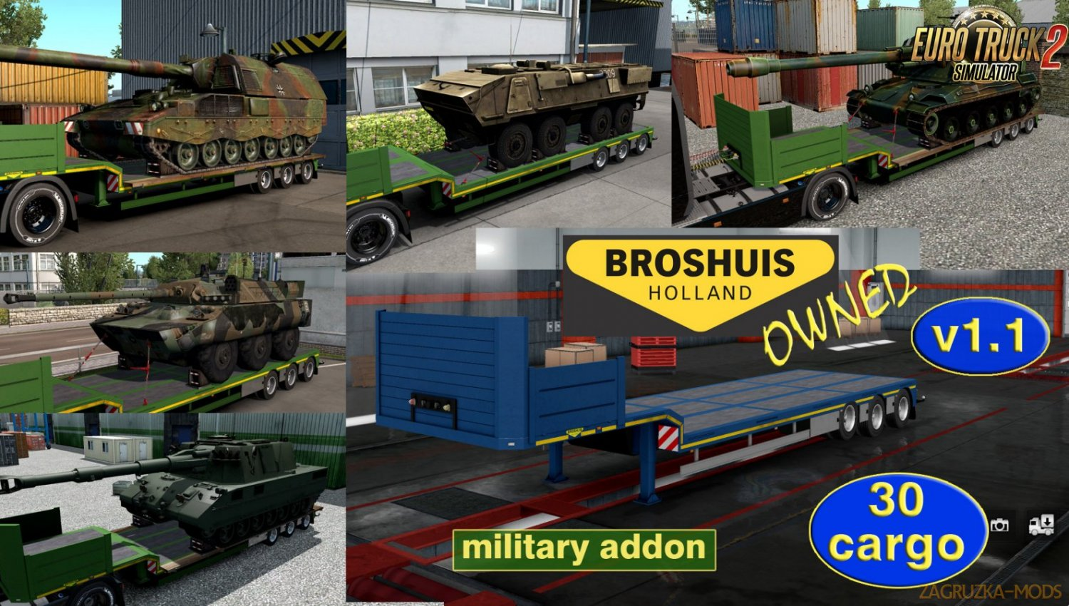 Military addon for Broshuis v1.1 by Jazzycat