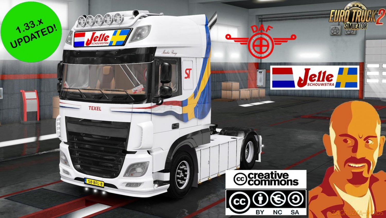 DAF JELLE SCHOUWSTRA for Ets2