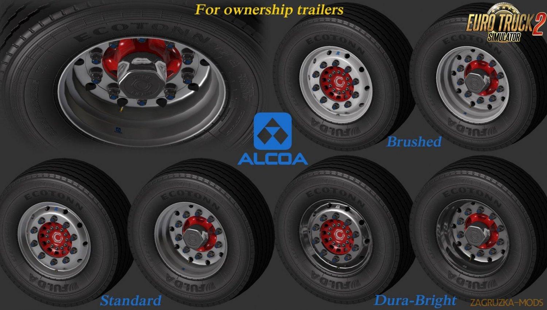 Abasstreppas Wheelpack for Ownership Trailers v1.0