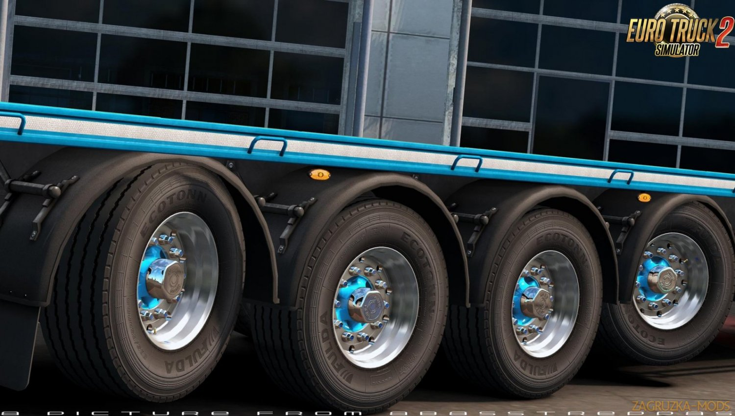Abasstreppas Wheelpack for Ownership Trailers v1.0