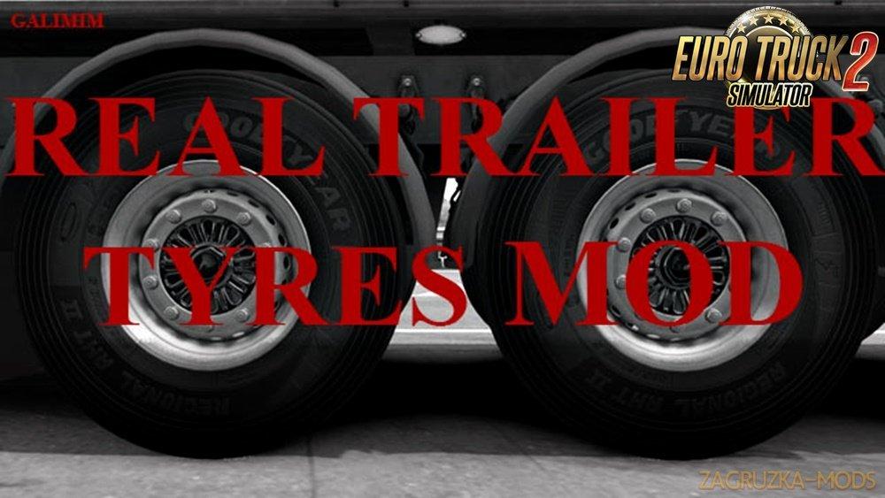 Real Trailer Tyres Mod v1.2 [1.33.x]