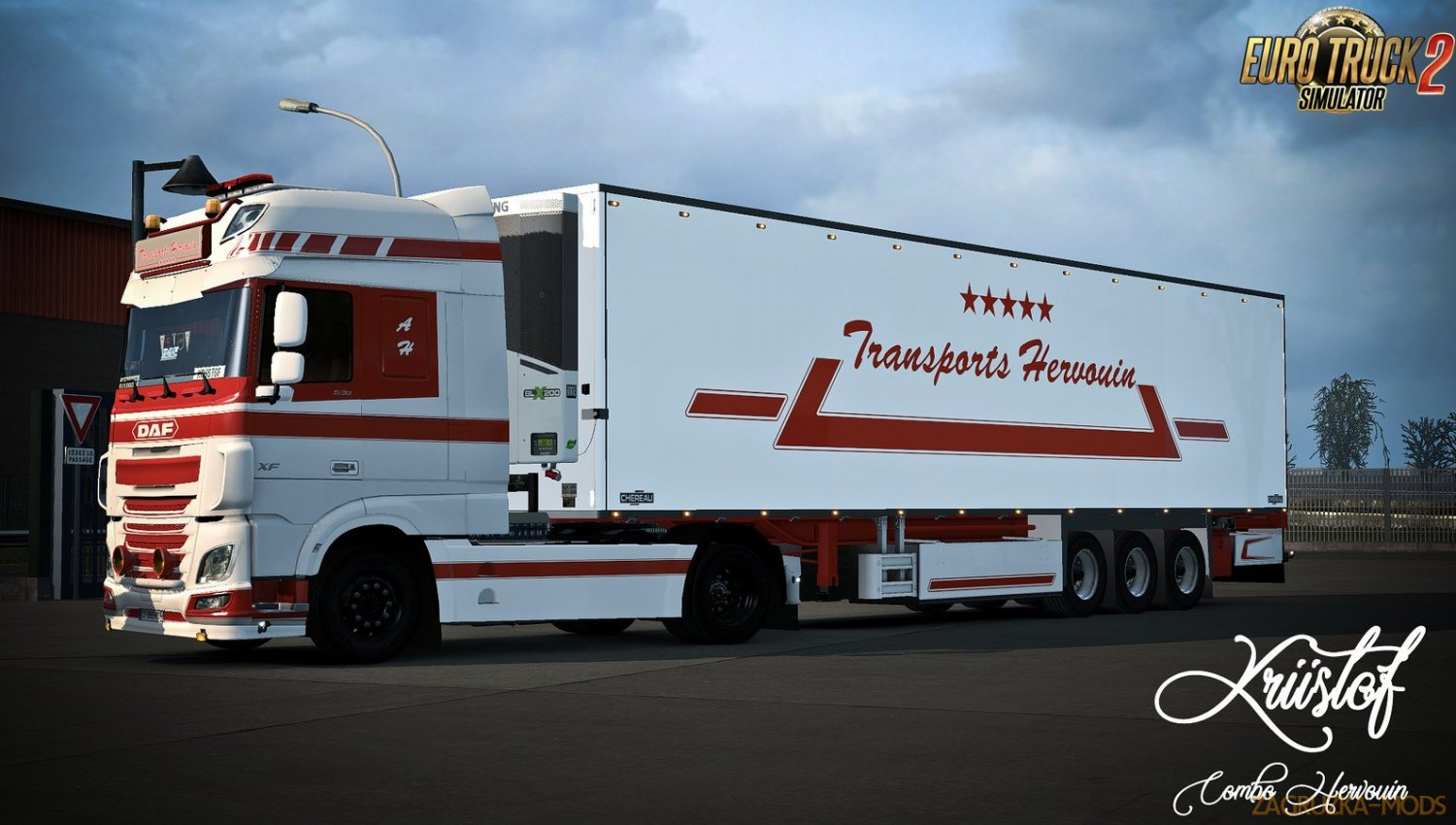 Kriistof Pack Combo Chereau v1.7 by MdModding (1.37.x) for ETS2