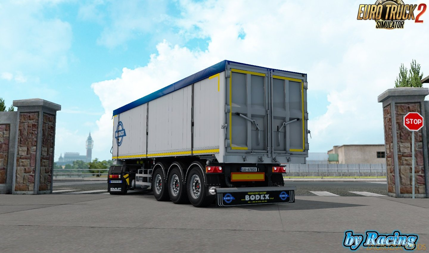 Trailer Bodex KIS 3 v1.2.1 by Racing (1.35.x) for ETS2
