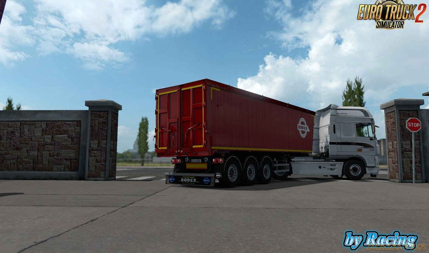 Trailer Bodex KIS 3 v1.2 by Racing (1.34.x)