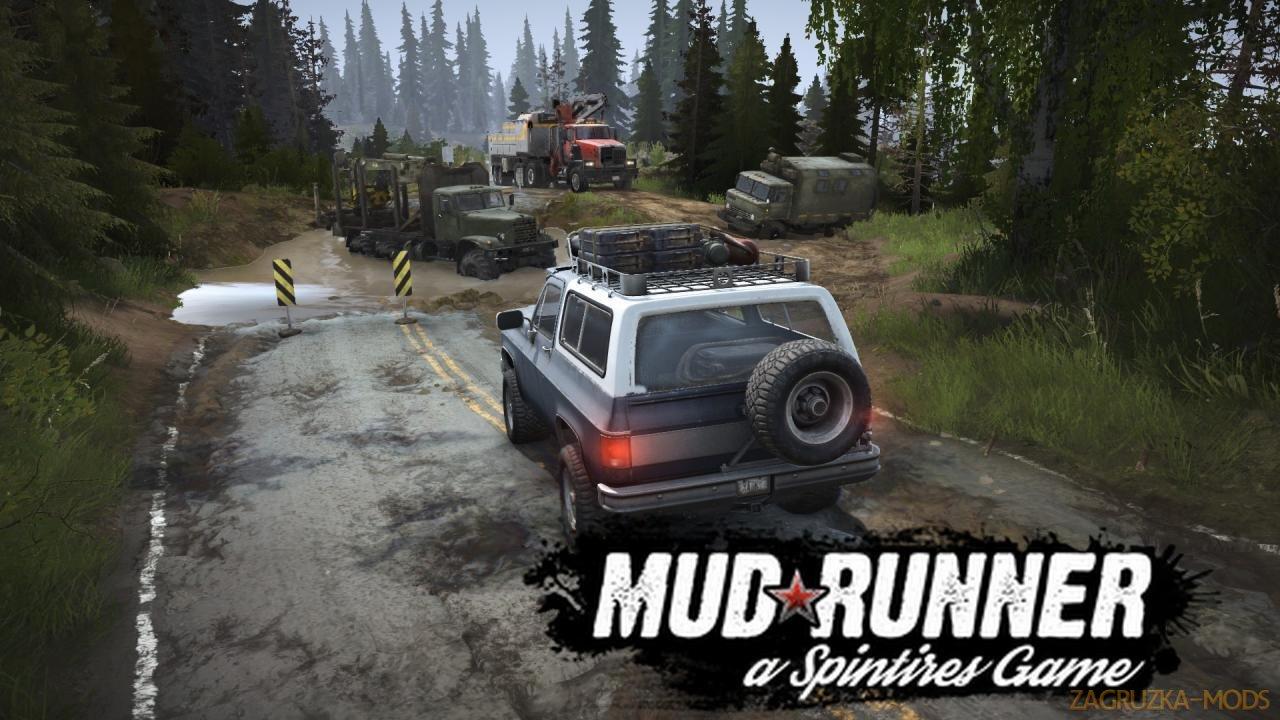 Realistic Graphics Mod v1.0 (v19.11.18) for SpinTires: MudRunner