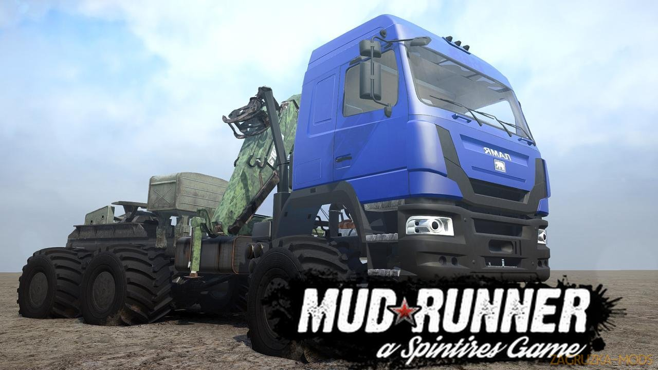 YAMAL B-6 L Off-Road v1.0 (v19.11.18) for SpinTires: MudRunner