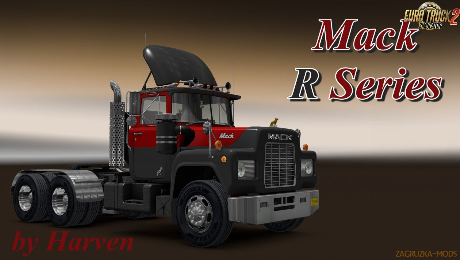 Mack R Series v1.3 for Ets2 [1.34.x]