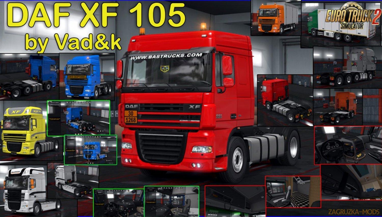DAF XF 105 v6.5 by vad&k [1.34.x]