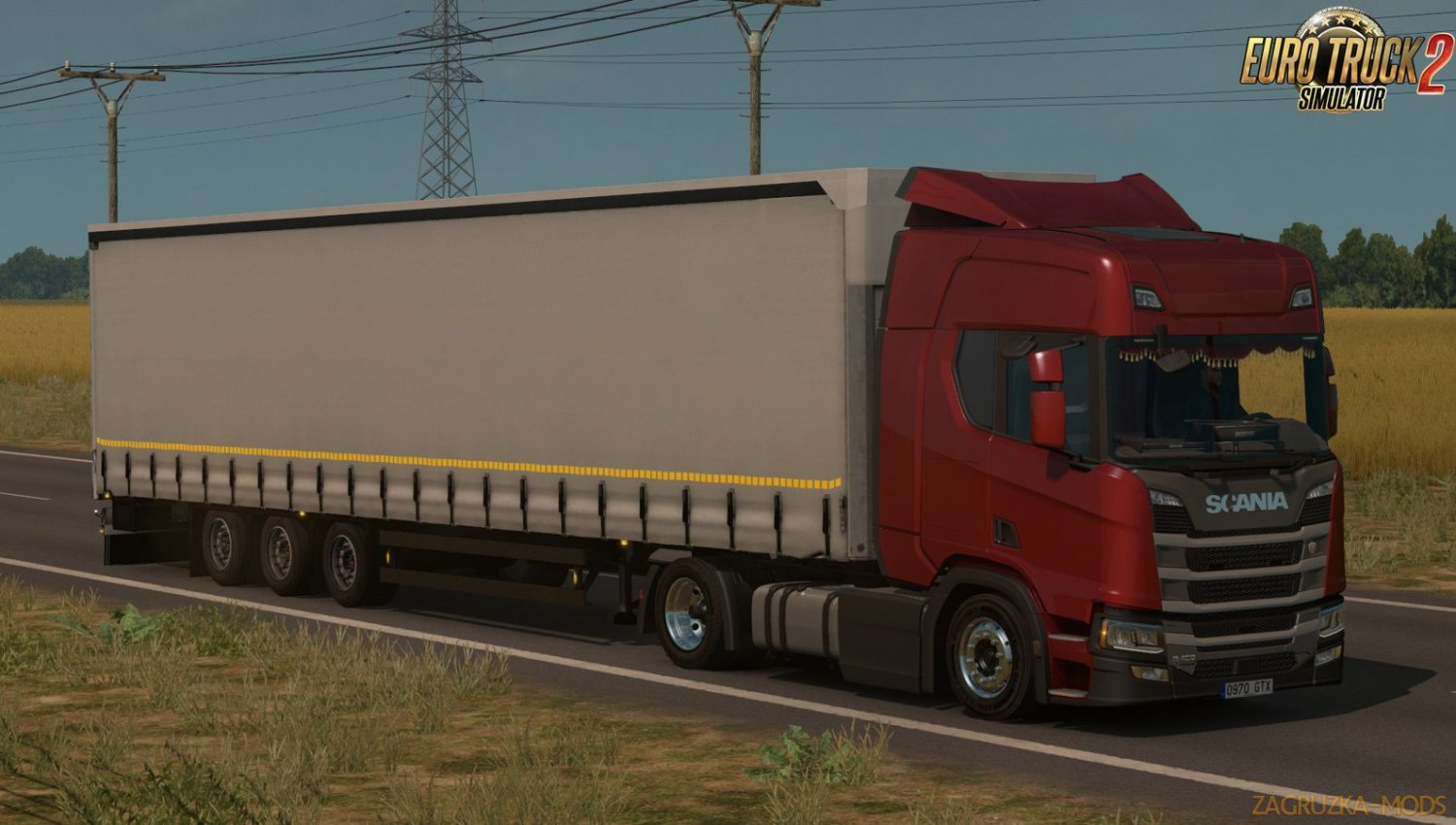 Low deck chassis addon for Scania S, R & P Nextgen v1.5 by Sogard3[1.33-1.34]