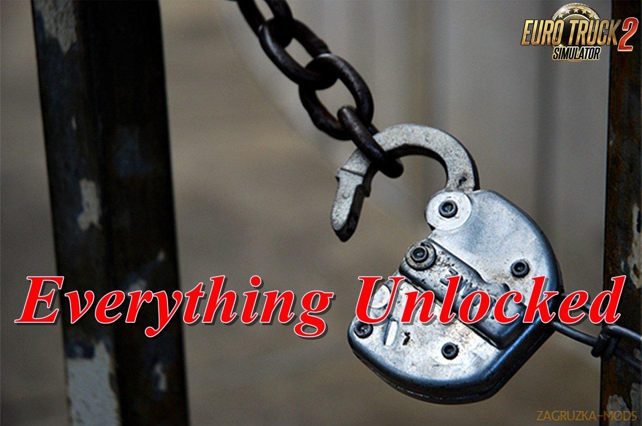 Everything Unlocked v1.1.1 for Ets2