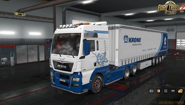 "Skin ""Krone"" for MAN Euro 6"