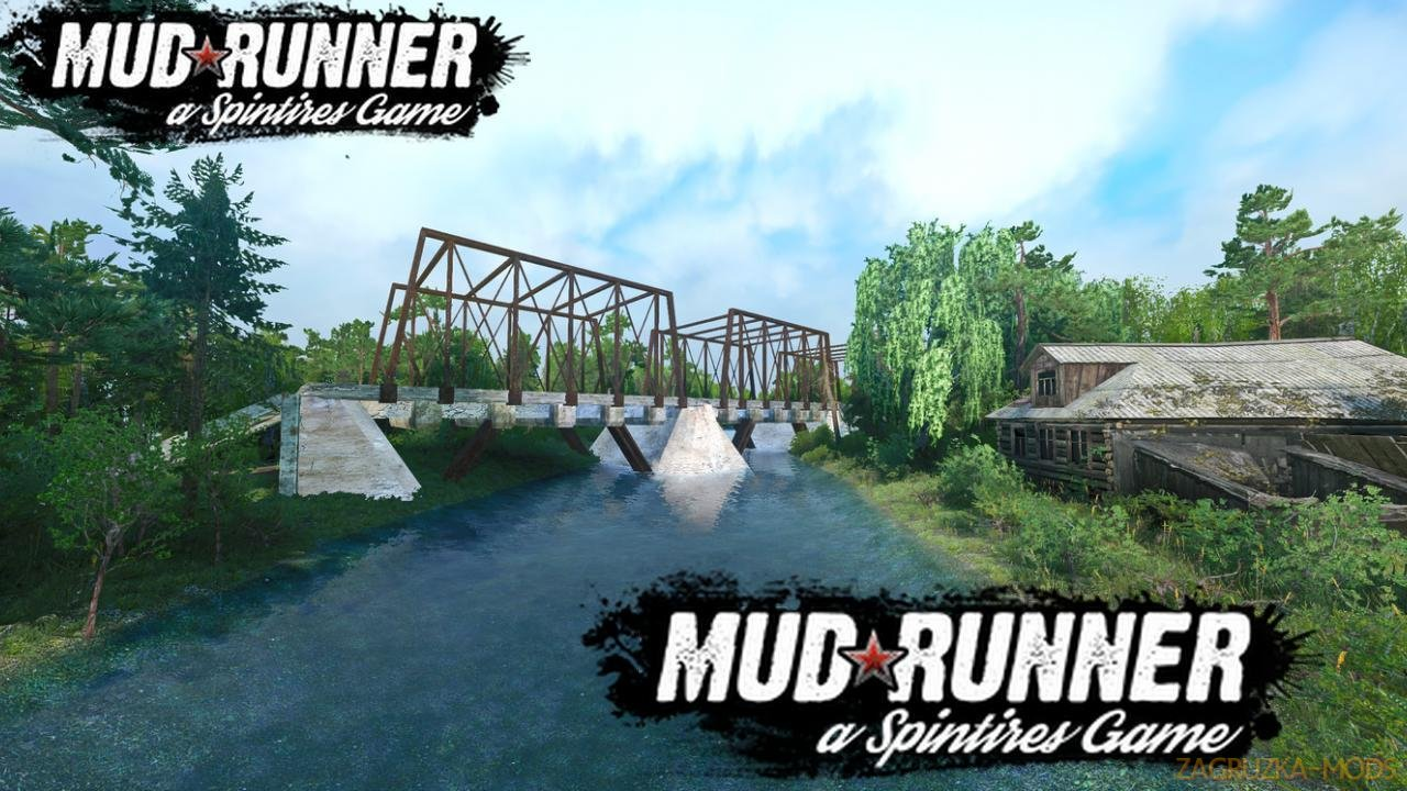 Tough Terrain Map v1.0 (v19.11.18) for SpinTires: MudRunner