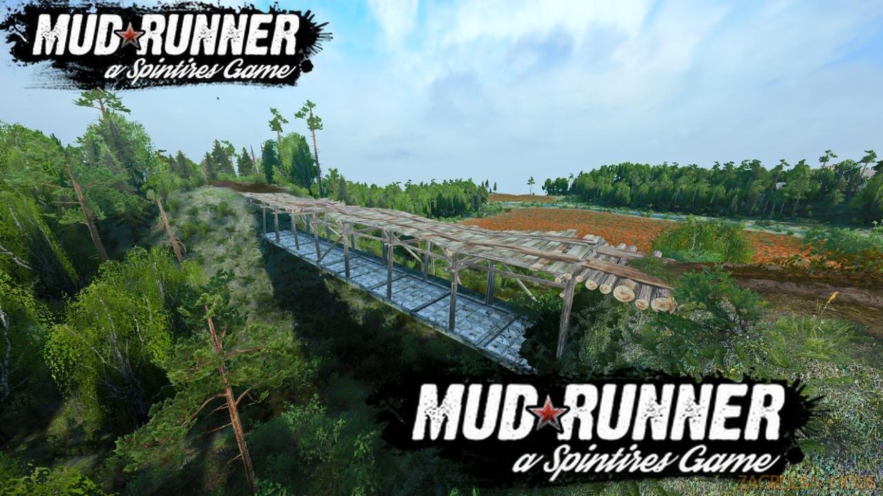 Tough Terrain Map v1.0 (v19.11.18) for SpinTires: MudRunner