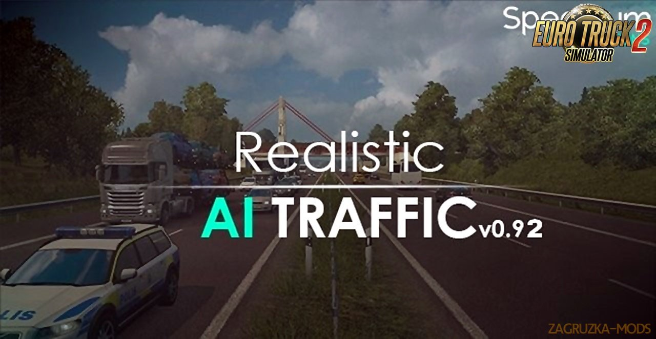 SM'S Realistic AI Traffic v 0.92 for Ets2
