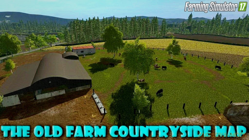 The Old Farm Countryside Map v1.3.2.5 for FS17