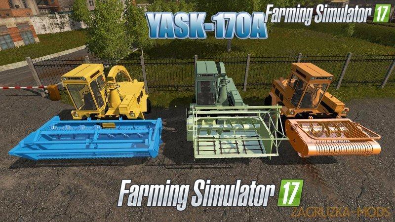 Harvester YASK-170A v1.0 for FS17